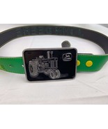 John Deere Belt with Tractor Buckle by Paul Frank Made in USA and Hat Ca... - $29.20