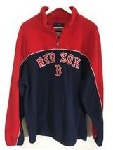 Genuine Merchandise Reebok Boston Red Sox Fleece Quarter Zip Pullover Me... - $23.75
