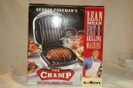 George Foreman The Champ Lean Machine Grill #GRIOAWHT NIB - $24.25