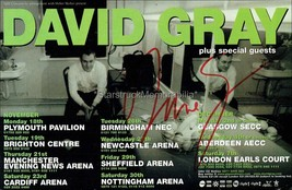 David Gray Autograph *White Ladder* Hand Signed 8x6 Page - $22.50