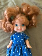 Mattel Vintage 1988 Cherry Merry Muffin Betty Berry Blueberry Doll 1980s - $12.72