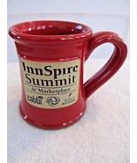 Deneen Pottery Handthrown InnSpire Summit & Marketplace AIHP Red Coffee ... - $19.30