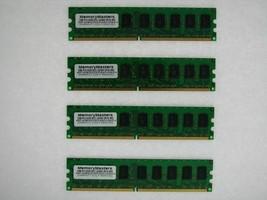 NEW! 8GB (4x2GB) Memory PC2-5300 ECC UNBUFFERED RAM Dell Poweredge R200