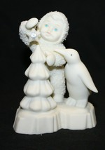 Dept. 56 Snowbabies MAKE IT SHINE Figurine.Penguin.Swarovski Gem.#05732.Ex Cond. - $12.86