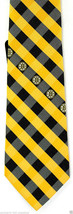 Boston Bruins Men's Necktie Licensed NHL Ice Hockey Sports Checks Gold N... - $31.68