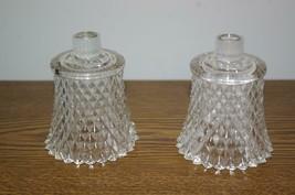 Home Interiors Clear Diamond Votive Cups Homco - $10.00