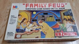 1977 Family Feud Board Game 2nd Edition Vintage Milton Bradley 10+ Ages - $18.69