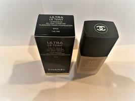 Ultra Le Teint Chanel All Day Flawless Finish Foundation 30ML Color: BR32 Bnib - $57.95