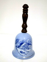 """Vintage Albert E. Price 1972 Currier and Ives Music Box Bell 9"""" Tall  - $8.91"""