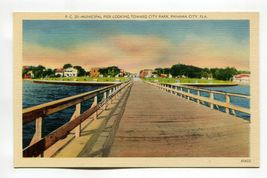 Municipal Pier looking toward City Park Panama City Florida - $1.99