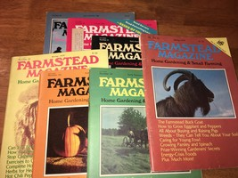 Farmstead Magazine - Lot of 7 Vintage, 1979 - 1981 - Hobby Farm/Garden -... - $10.00
