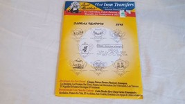 NIP AUNT MARTHA'S HOT IRON TRANSFERS FLORAL TEAPOTS #3898, EMBROIDERY, C... - $4.94