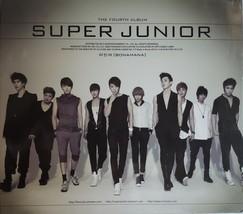 Super Junior, The 4th Album 'Bonamana' Autographed CD - $59.95