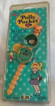 Vintage Polly Pocket Orange Watch Heart Band 1994 Bluebird Toys New & Sealed Nip - $296.01
