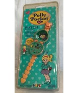 Vintage POLLY POCKET Orange Watch Heart Band 1994 BLUEBIRD Toys NEW & SE... - $296.01