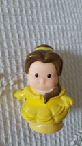 FISHER PRICE CURRENT LITTLE PEOPLE REPLACEMENT DISNEY PRINCESS BELLE BEAUTY - $4.94