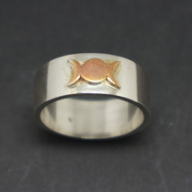 Silver Triple Goddess Ring - $52.00