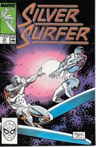 The Silver Surfer Comic Book Vol. 3 #14 Marvel 1988 FINE - $2.99
