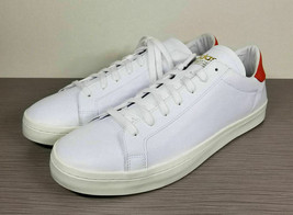 adidas Court Vantage Shoes, Cloud White / Red, Mens Size 13 / 48 - €33,81 EUR