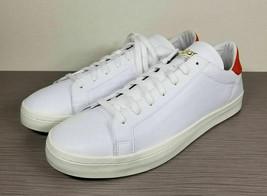 adidas Court Vantage Shoes, Cloud White / Red, Mens Size 13 / 48 - £28.74 GBP