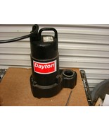 Dayton 3BB71 Submersible Sump Pump for parts or repair - $23.76