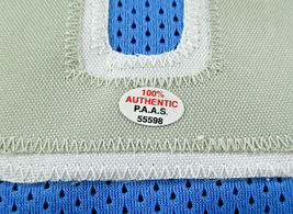 KRISTAPS PORZINGIS / AUTOGRAPHED DALLAS MAVERICKS CUSTOM BASKETBALL JERSEY / COA image 5
