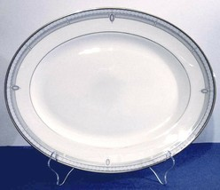 """Lenox Sheraton Blue Oval Serving Platter 13.25"""" Classics Collection New - $109.90"""