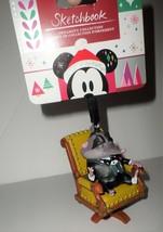 Disney Mr. Big Sketchbook Zootopia 2018 Christmas Ornament NEW Arctic Shrew BOSS - $12.38