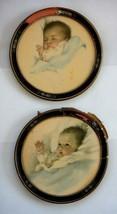 LOT antique 2 BESSIE PEASE GUTMANN ART PRINTS ORIGINAL deco nouveau wood... - $295.00