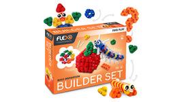 Flexo - Builder Set Super Flexible and Lego Compatible - $45.00