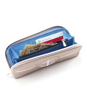 Lug Stowaway Sand color wallet with Anchor NEW w Tags image 2