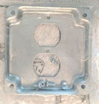 EGS 503536 Metal Raised Surface Duplex Receptacle Eletric Box Cover image 4