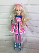 Disney Descendants Neon Lights Ally of Auradon Prep Doll With Outfit Bag... - $29.69