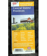 2007 AAA Central States/Provinces Road Map - $2.50