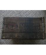 Antik Menominee / Marinette Gär Co.Wooden 591ms Bierflasche Bier - $124.31