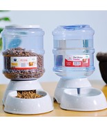 Automatic Pet Feeder Dogs Cats Animal Bowl Auto Food Drinking Water Disp... - $38.00