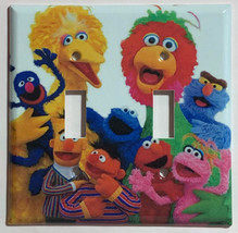 Sesame Street Big Bird Friends Light Switch Power Outlet Cover Plate Home decor image 3