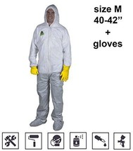 Coveralls for Men Women Disposable Overall Unionalls White Microporous A... - $34.93