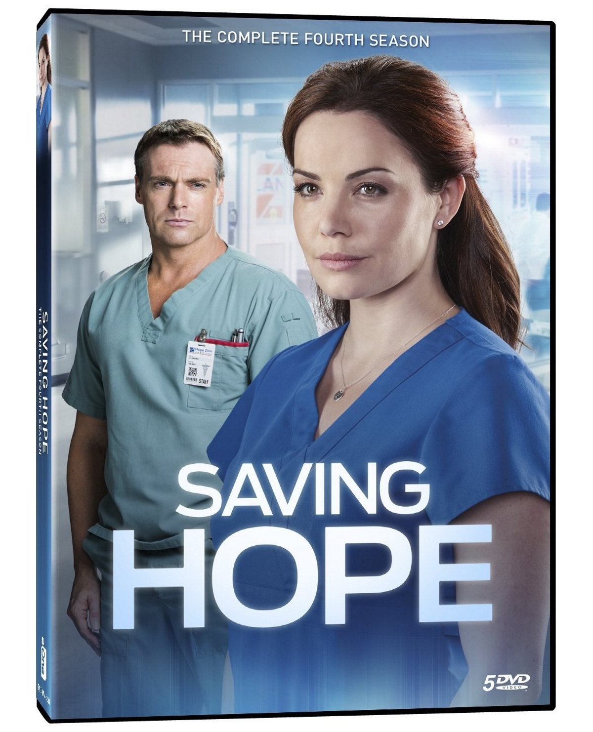 Saving hope fourth season 4  dvd 2017 4 disc    slip cover