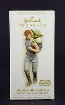 Hallmark Star Wars Ornament Luke Skywalker and Yoda 2006 - $29.69