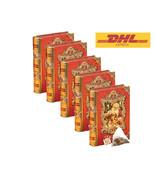 Basilur Tea - Ceylon Tea Bags With Metal Mini Tea Book Vol v X 05 Packs - $61.88