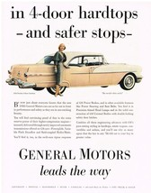 Vintage 1956 Magazine Ad Pontiac Far Out Front In Performance Safety & B... - $5.93