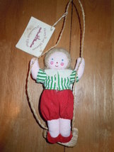 Henry Ford Museum Little Girl On a Swing Ornament 1983 - $7.99