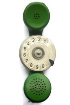 Vintage Phone Telephone Handset Dialer Dial service personnel 80's - $29.90