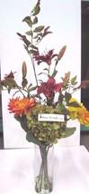NEW Nearly Natural Giant Tall Hydrangea Silk Flower Arrangement Smithsonian - $58.81