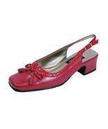 PEERAGE Amber Women Wide Width Faux Snake Design Bow-n-Tassel Leather Sl... - $53.95