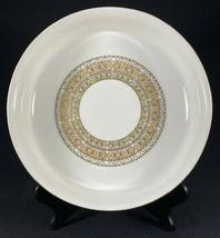 "Mikasa Lacerna 9"" Round Vegetable Bowl-Bone China-Gold Silver Green -2 A... - $22.72"