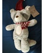 Levtex Baby Christmas Raccoon Plush *NEW w/Tags* z1 - $11.99