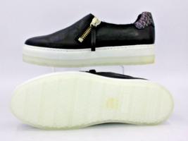 DIESEL S-Andyes Zip On W Womens Causal Athletic Sneaker Black Size 9 - $97.01
