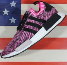 Adidas NMD R1 Primeknit BOOST Running Shoe Pink-Rose/Black [BB2363] Wome... - $89.70